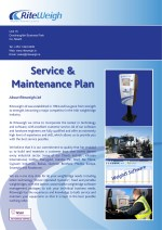 Riteweigh Service plan pg 1