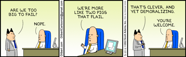Dilbert: Two Pigs That Flail - The Big Picture