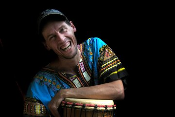 Portretoto van Coen van Vollenhoven van Ritme op Maat