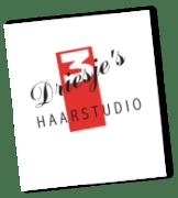 Logo van Driesjes Haarstudio