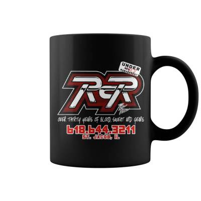 Black RCR Over 30 years of Blood, Sweat and Gears Mug