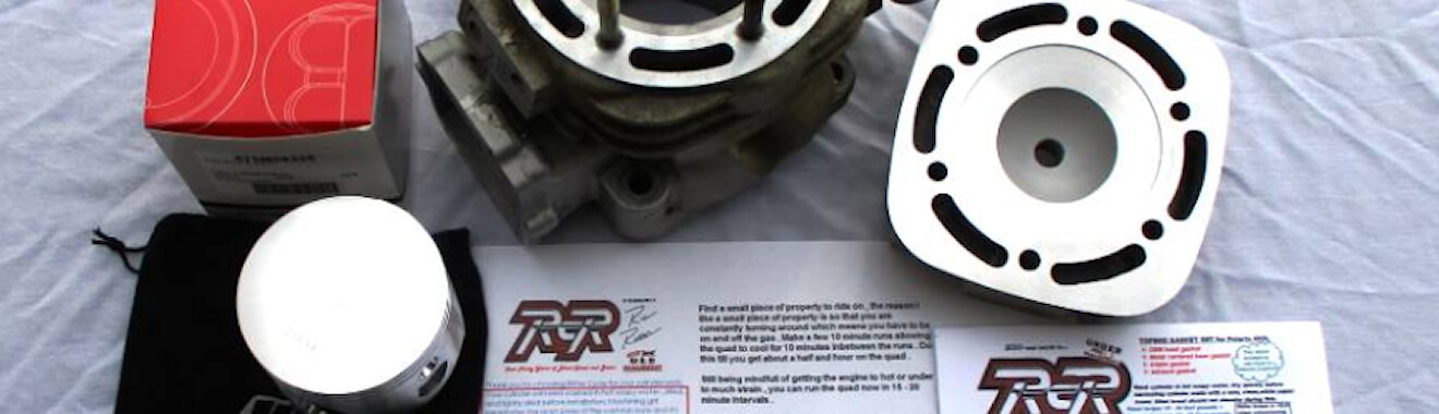 400L top end rebuild kit from Ritter Cycle Racing Inc
