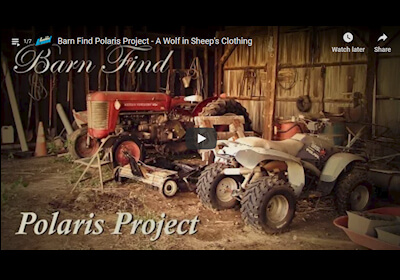 Barn Find Polaris - A Wolf in Sheep's Clothing Video