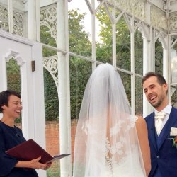 Celebrant-led wedding ceremony