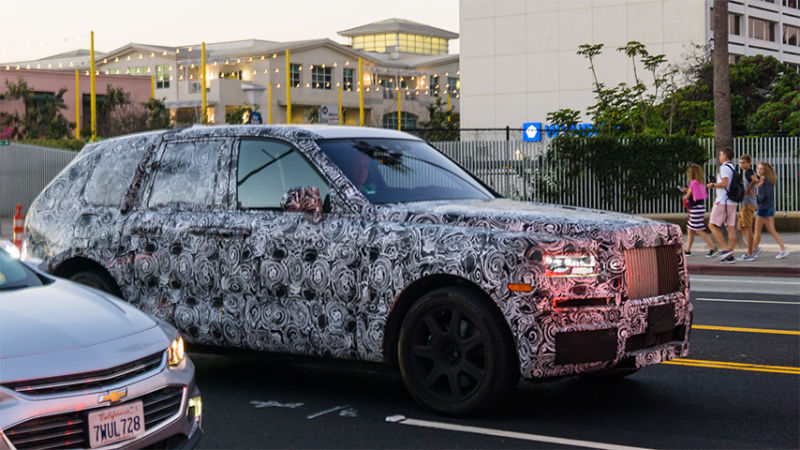 Rolls-Royce: Project Cullinan Spotted in Cali
