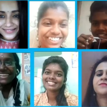 Trisha Meets Youngsters Who Voiced Out Against Violence On Children (1)