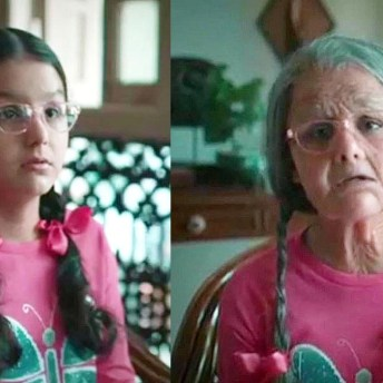 Preetisheel Singh Transforms 10-Year Old Girl Into A 90-Year Old (2)