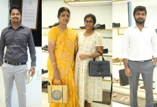 Black Edition Of Handcrafted Leather Shoes & Accessories La Marca Launched In Chennai