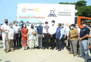 Rotary Club Of Madras Helps In Providing Necessary Infrastructure To Safely Transport Vaccines Across Tamil Nadu (7)