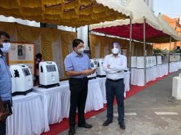 CREDAI Chennai Contributes 20 Oxygen Concentrators (1)