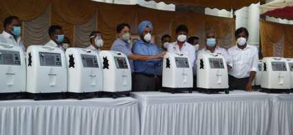 CREDAI Chennai Contributes 20 Oxygen Concentrators (3)