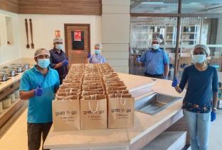 Hotel Mercure Chennai Sriperumbudur contributes for Covid-19 relief (1)