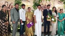 Saranya Ponvannan's Daughter Priyadarshini Gets Hitched (1)