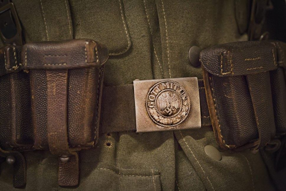 "Nazi ""God With Us"" Belt"