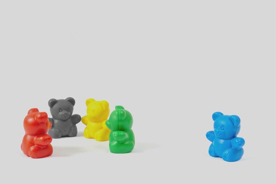 Colored Bears