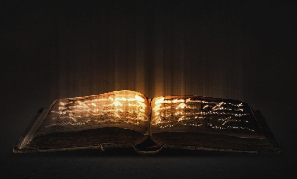 Glowing Book