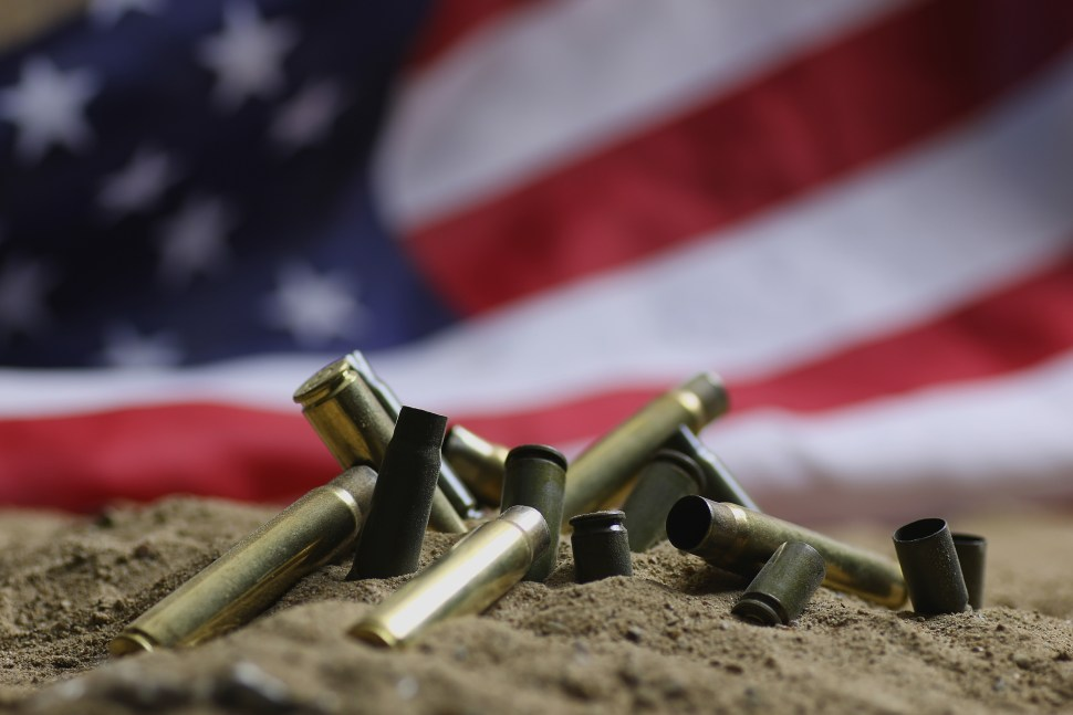 Bullets With Flag