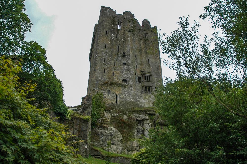 Irish Stone Castle Ruins