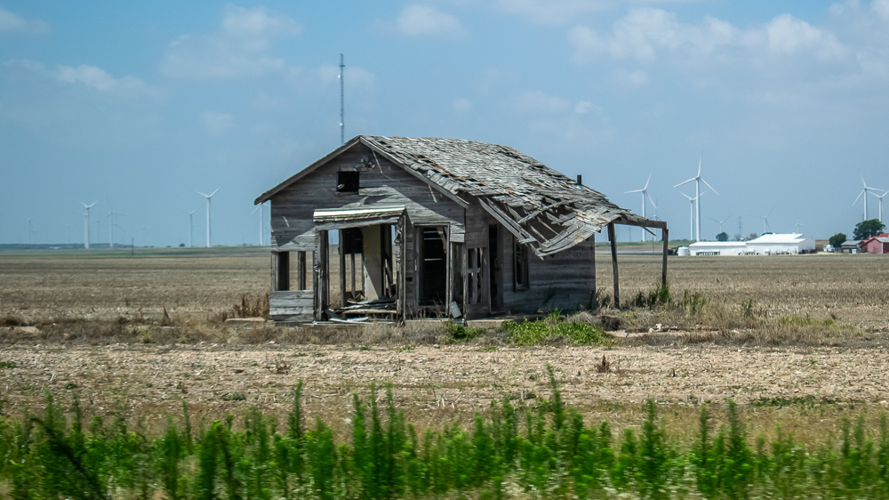 This House Was Once New - Windmills Behind