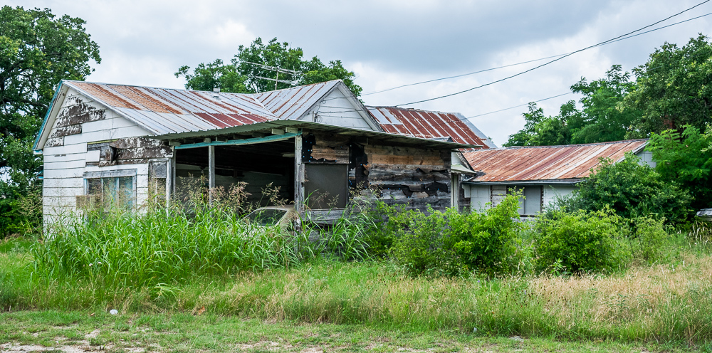 House, Junky, Rusted Tin