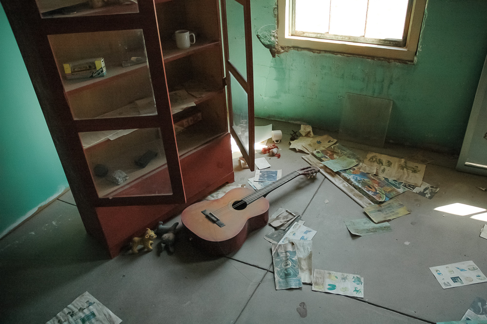 Guitar Left Behind
