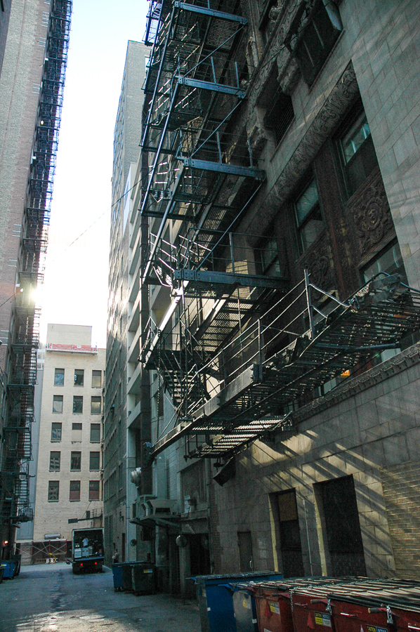 Chicago, Fire Escapes - Sunlight And Shadows