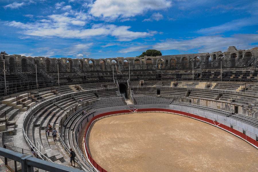 Bull Fighting Arena France