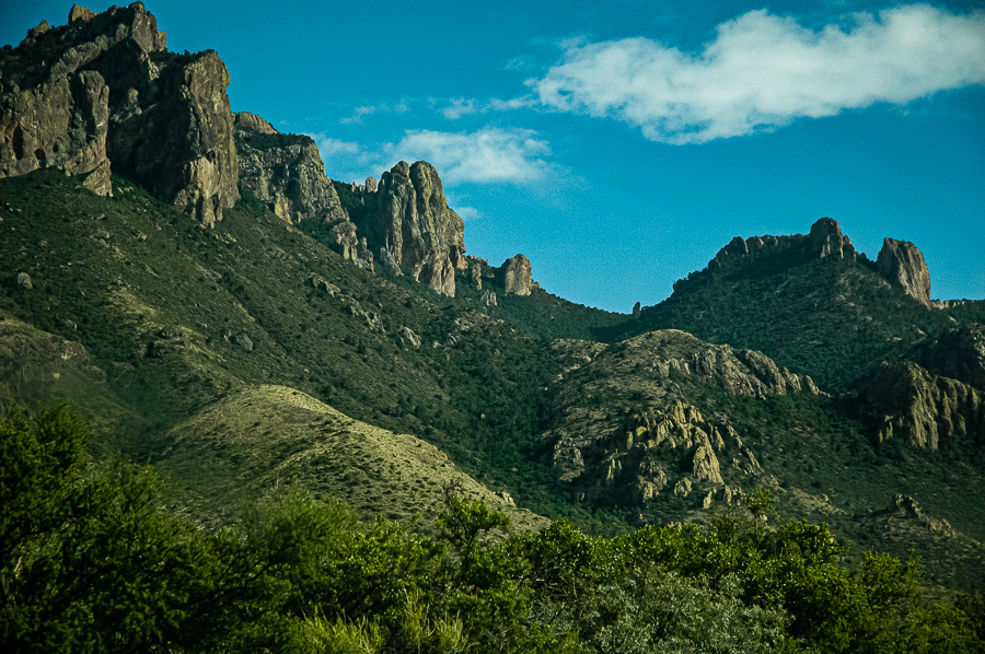 Big Bend Mountains Basin