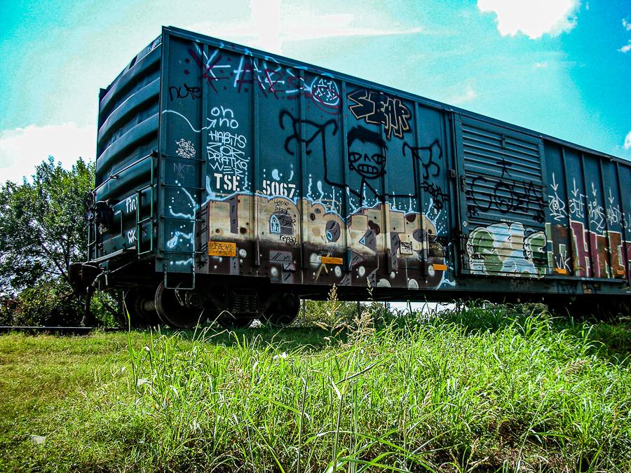 Roadside Relics - Grafitti Train