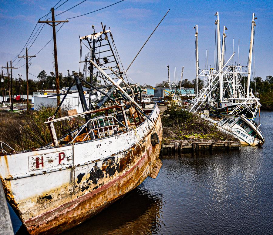 Roadside Relics - Derelict Ships, Boats