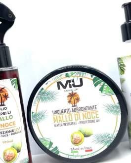 Kit olio capelli uv+ protezione 50+ unguento 200ml MU MAKE UP