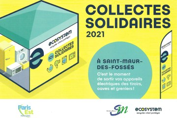 Collectes solidaires Saint Maur