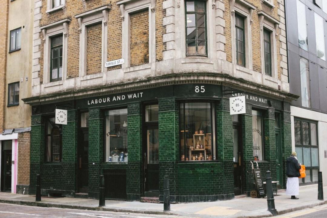 Londres - Labour and Wait