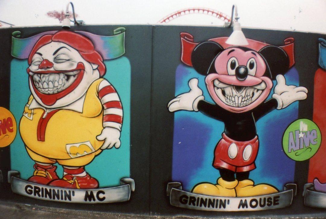 Coney Island Art sardina
