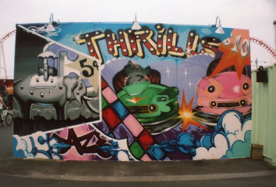 Coney island street art sardina
