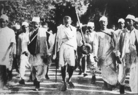 Gandhi's Salt: How a Fistful of Mud and Seawater Shook the British Empire –  Rivera Sun
