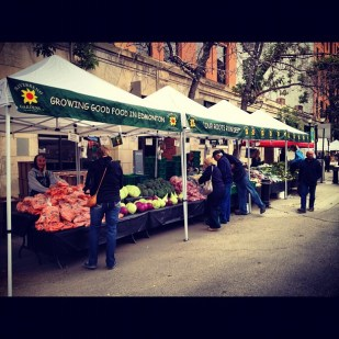 Excellent day for a market!