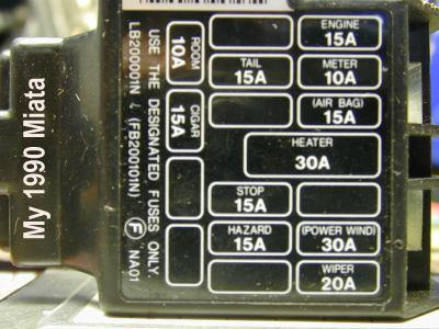 1999 miata fuse diagram wiring diagram