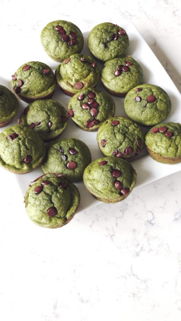 how to make Healthy green Monster Muffins