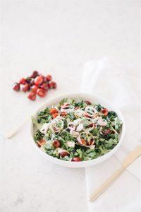 delicious summer caprese salad