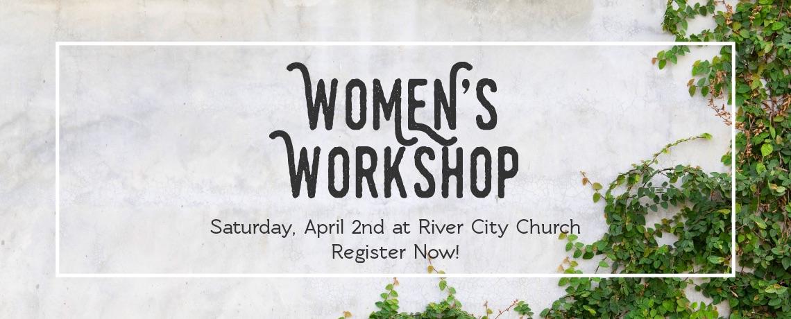 Women's Workshop 4/2/16: Details