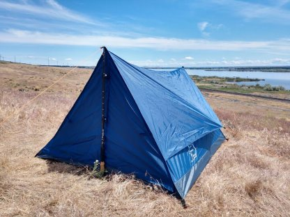 2 person trekking pole tent