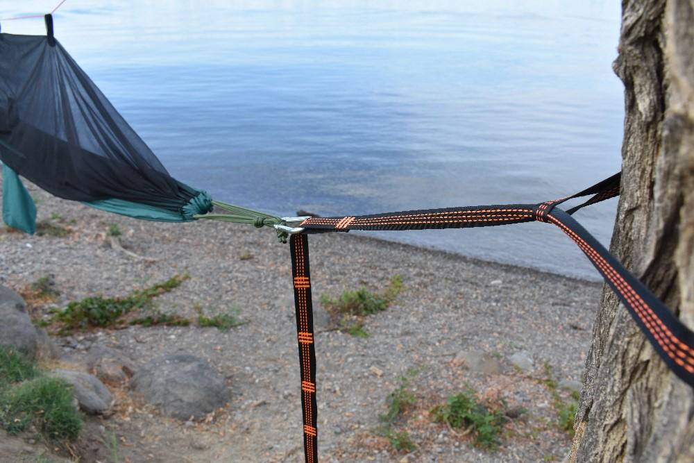 hammock tree straps backpacking