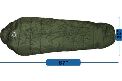 sleeping bag, Pad, Pillow