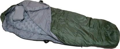 Sleeping bag open