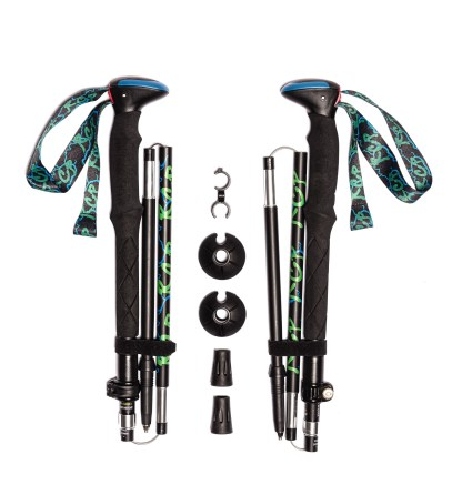rcp folded carbon trekking poles
