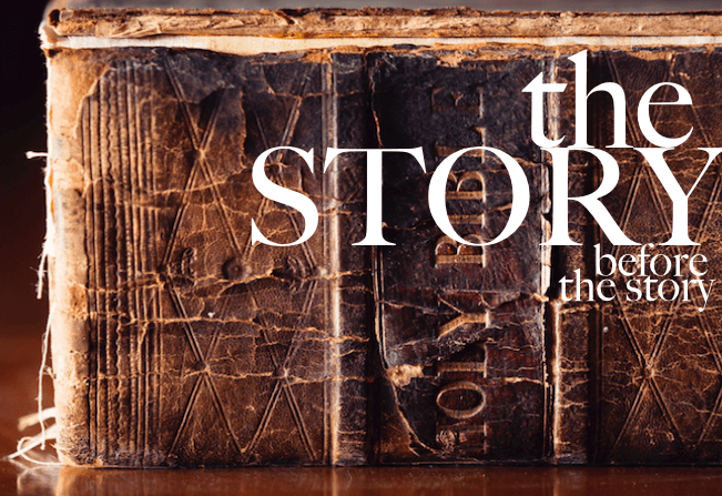 The Story Before The Story: Genesis 1:1-2