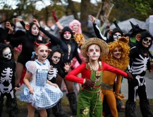 Dance troupe Great Falls Festival-Pumpkinfest