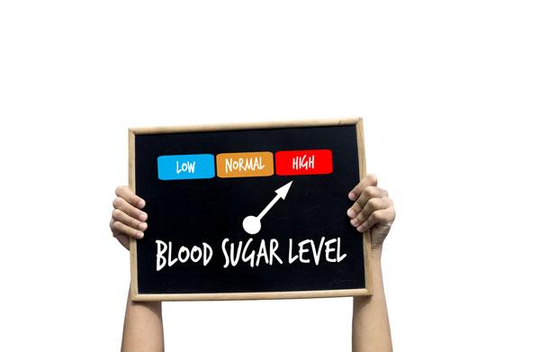 high blood sugar levels