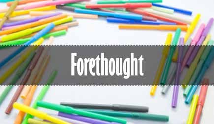 Forethought